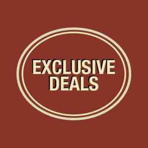 Exclusive deals